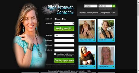 Rijpe Vrouwen Contact